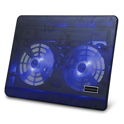 mondpalast refroidisseur pour ordinateur portable avec 2. Black Bedroom Furniture Sets. Home Design Ideas