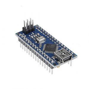 tinxi® MINI USB Nano V3.0 ATmega328P CH340G 5V 16M Micro Contrôleur Module Board Compatible pour Arduino Nano V3.0