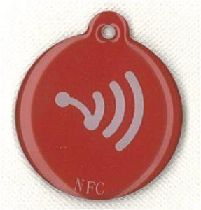 1x NFC Jour Red ntag203[de13]