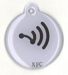 1x NFC ntag203White [de11]