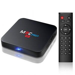 Bqeel M9C PRO Amlogic S905X Quad Core Android 6.0 BOX 1G / 8G 4K WiFi H.265 DLNA Smart Box Android TV Box