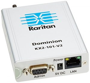Raritan Dominion KX II-101 V2 Gris commutateur écran, clavier et souris – commutateurs écran-clavier-souris (USB, USB, VGA, 1600 x 1200 pixels, Gris, 802.1x RADIUS,HTTPS,SSH)