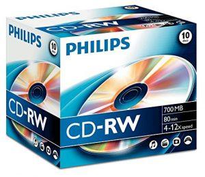 10 x CD-RW – 700 MB ( 80 Min ) 4x – 12x – Speichermedium