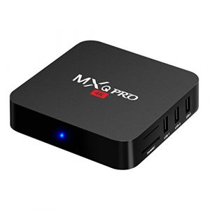 Bqeel MXQ Pro Amlogic S905 Quad Core UHD 4K 1Go / 8Go Android 5.1 WiFi H.265 DLNA Miracast HD Android TV Box (MXQ PRO)