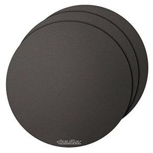 Buildtak BT12DIA-3PK Impression 3D Construire Surface, 12″ Diamètre Rond, Noir (Paquet de 3)