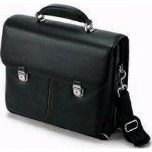 Dicota N16168L 13 «+ étui léger en cuir pour ordinateur portable-Noir