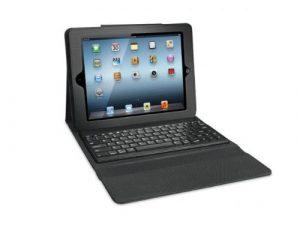 iSound 4733 9.7″ Dossier Noir – étuis pour tablette (Dossier, Apple, Apple iPad2/3/4 Generation, 24,6 cm (9.7″), Clavier, Noir)