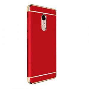 Housse Xiaomi Note 4, magiyard Boîtier de la caisse hybride de pare-chocs rouge rouge Xiaomi Note 4