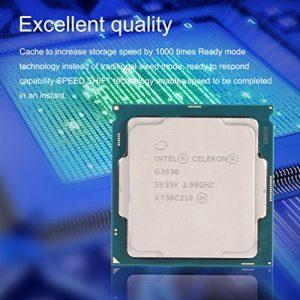Gugutogo pour Intel G3930double cœurs processeur CPU 2,9GHz 2Mo de mémoire cache DDR4Socket LGA1151