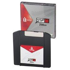 Iomega cm Zip 250Mo Disques en manches –/PC/Mac/Projecteur (par le fabricant)