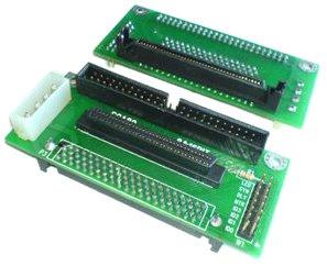 ADAPTATEUR SCSI SCA 80 vers 68 ou 50 points