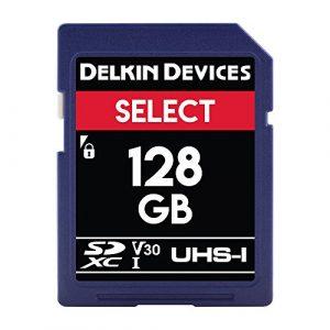 Delkin Devices 128Go Select SDXC 266x Carte mémoire UHS-I U1/V10