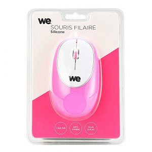 WE WESOURFILSILICF Souris Rose