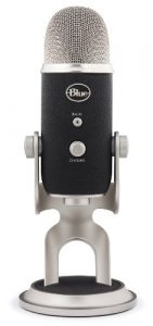 Blue Microphones – Microphone USB Yeti Pro Edition Multifonction