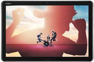 HUAWEI MediaPad M5 Lite 10 4G LTE Tablette Tactile 10.1″ Gris (32Go, 3Go de RAM, Android 8.0, Bluetooth, Quatre haut-parleurs)