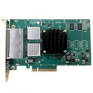 Chelsio T540-BT Interne Ethernet 10000Mbit/s Carte réseau – Cartes réseau (Interne, avec Fil, PCI-E, Ethernet, 10000 Mbit/s)
