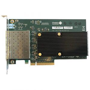 Chelsio T540-CR Interne Fibre 10000Mbit/s carte et adaptateur réseau – Cartes et adaptateurs réseau (Interne, Avec fil, PCI-E, Fibre, 10000 Mbit/s)