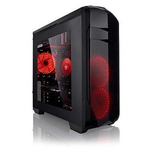 Megaport PC Gamer 8-Core AMD FX-8300 8X 4,20 GHz Turbo • GeForce GTX1060 • 16Go DDR3 • 1To • Windows 10 • Unité Centrale Ordinateur de Bureau PC Gaming PC Ordinateur Gamer