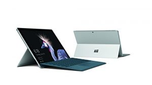 Microsoft Surface Pro (core M, RAM 4 Go, SSD 128 Go, Windows 10) – Platine – Sans clavier