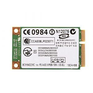 Richer-R Carte sans Fil Professionnelle, Mini PCI-E WiFi 2.4G + 5G Dual-Band pour HP/Mac / Dell/Acer