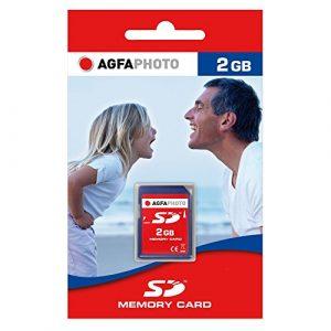 AgfaPhoto 10403 Carte mémoire SD 2 Go