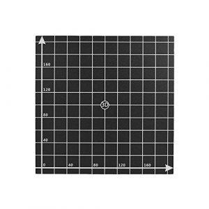 Aibecy 220* 220mm chaleur Autocollant Lit chaud Lit Plateforme construire Surface ruban avec 1: 1coordonnées pour imprimante 3d Anet A6/A8 220mm x 220mm