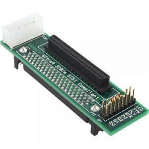 InLine Adaptateur 82680SCA SCSI U32080broches prise femelle sur 68broches mini Sub D