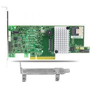 Tlegend Instrument® LSI MegaRAID SAS 9271–4i carte contrôleur RAID SATA/SAS 6Go/s PCI-Express 3.0With1gb mémoire intégrée (Lsi00328)