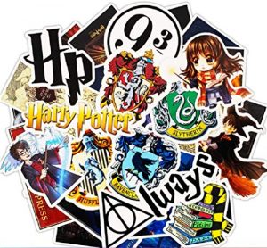 ⭐️ Top Stickers ! ⭐️ Lot de 30 Stickers Harry Potter – Autocollant Top Qualité Non Vulgaires – Fun, Bomb – Customisation ordinateur portable, bagages, vélo, skateboard, trotinettes (#30-HARRY)