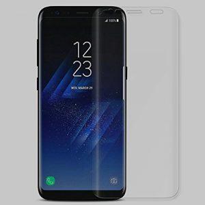 Anti-figerprint 3d incurvé en verre trempé d'écran pour pour Samsung Galaxy S9Plus