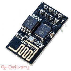AZDelivery ⭐⭐⭐⭐⭐ ESP8266 01 ESP-01 WiFi Un Module Wi-FI pour Arduino, Raspberry Pi et Un microcontrôleur