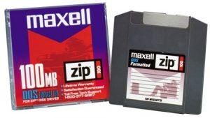 Maxell disque Zip 100100Mo 1pk (580005) (discontinued par le fabricant)