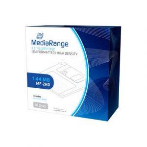 Mediarange disquete mf2hd mr200-02 1.44mb Pack 10 uds