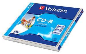 VERBATIM DataLifePlus, CD-R, 700 MB (80 Min) 52x