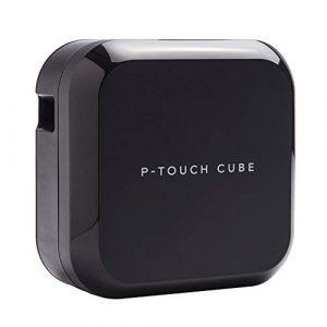 Brother PT-P710BT P-Touche Cube | Etiqueteuse professionnelle | Impression jusqu'à 24mm de large | Connectable PC et bluetooth