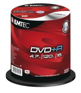 Emtec EKOVPR4710016CB DVD vierge 120 min