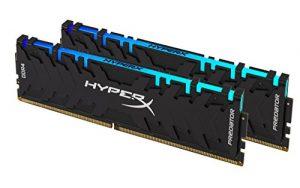 HyperX Predator DDR4 RGB- HX429C15PB3AK2/16 Kit (2x8GB) -2933MHz DDR4 CL15 DIMM 16GB
