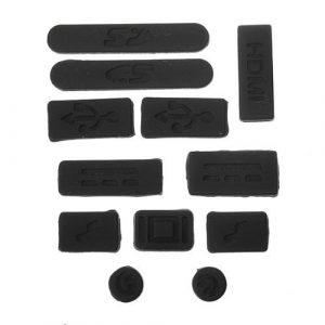 L'Eau et 12en Bois Noir de table en silicone Anti prise de la poussière Housse de ports pour MacBook Retina 33cm 38,1cm Air 27,9cm 13