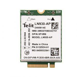 Richer-R Carte Module, Mini Carte Module de Remplacement 4 G LTE WWAN NGFF M.2 Module de Carte Support GNSS & A-GPS Applicable pour Win7 / Win8 / Blue