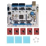 Contrôleurs pour imprimante 3D GEEETECH GT2560 V3.0 control board+5 X A4988 stepper driver+ Heatsink + sticker