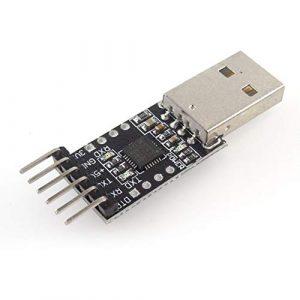 HW-409 CP2102 Module USB vers TTL USB vers Port série UART Brush Board