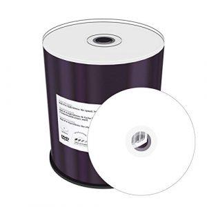 Mediarange MR413 DVD-R 4,7GB 120min par jet d'encre Disque Lot de 100