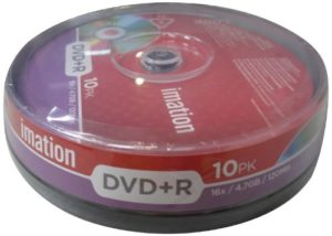 Imation 10PK DVD+R 4.7 GB/16x/120 i21748