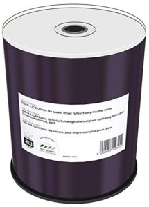 Mediarange MR414 DVD+R 4,7GB 120min Encre pleine imprimable Lot de 100