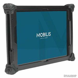 Mobilis Coque de Protection durcie Resist Pack pour Galaxy Tab S3 – Bandoulière Incluse – Noir