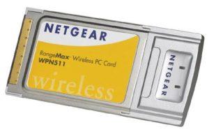 Netgear RangeMax Wireless PC Card WPN511 Adaptateur Réseau