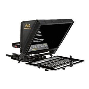 Ikan PT-Elite Pro Large Tablette Universel, Surface Pro et Apple iPad Pro téléprompteurs Noir