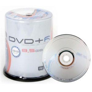 Omega Freestyle–100DVD + R Omega Dual/Double Layer 8x DL 8.5Go 240Min Doppio stratoh