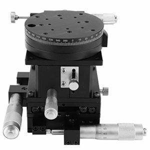Plate-forme de coupe, plateforme de coupe SEMXYZR-80 Micromètre de précision de 4 axes avec plateforme de coupe manuelle