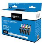 Seven Life Compatible Epson Fraise t2996 Pack de 4 Cartouches